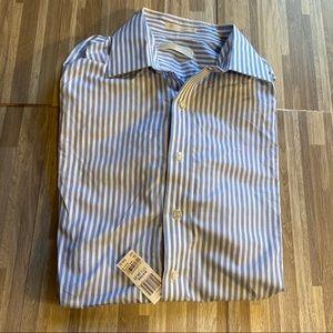 Michael Kors Shirt Size 17 1/2 34-35 XLarge